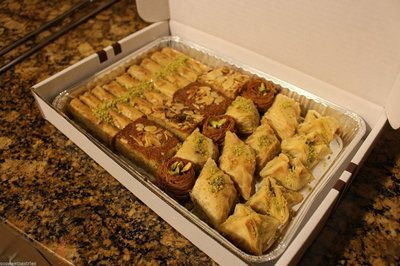 Small Assorted Baklava Tray