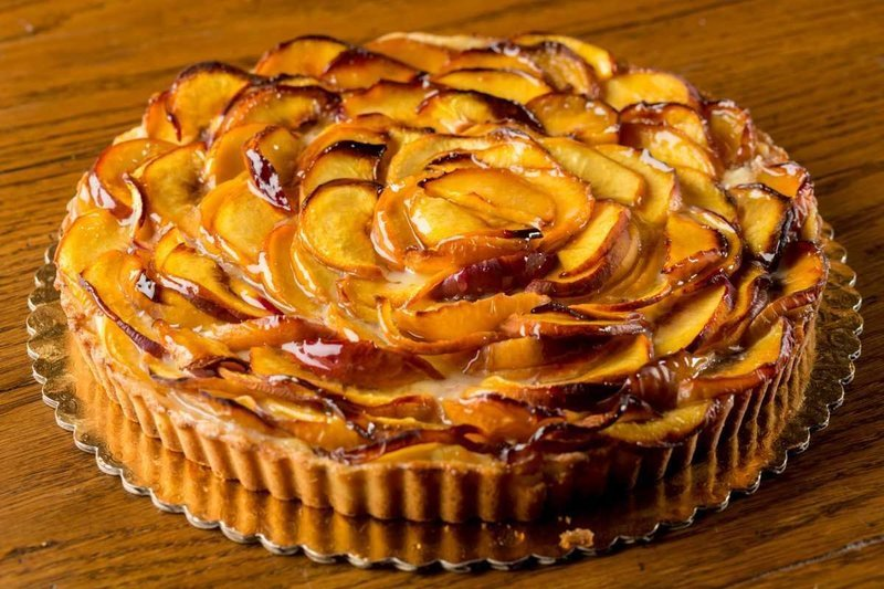 Peach Tarte Aux Fruits