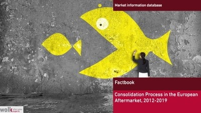 Consolidation process in the European Automotive Aftermarket 2012 - 2018