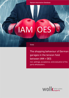 The shopping behaviour of German garages in the tension field between IAM + OES
