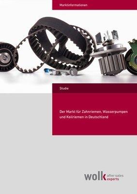Der Markt für Zahnriemen, Wasserpumpen und Keilriemen in Deutschland