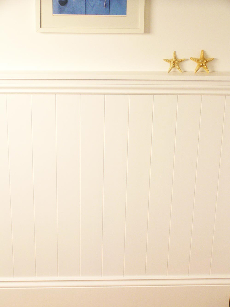 Royal wood tongue and groove panels - Mdf Wall Panel Pack Includes Skirting Architrave And Capping Rail