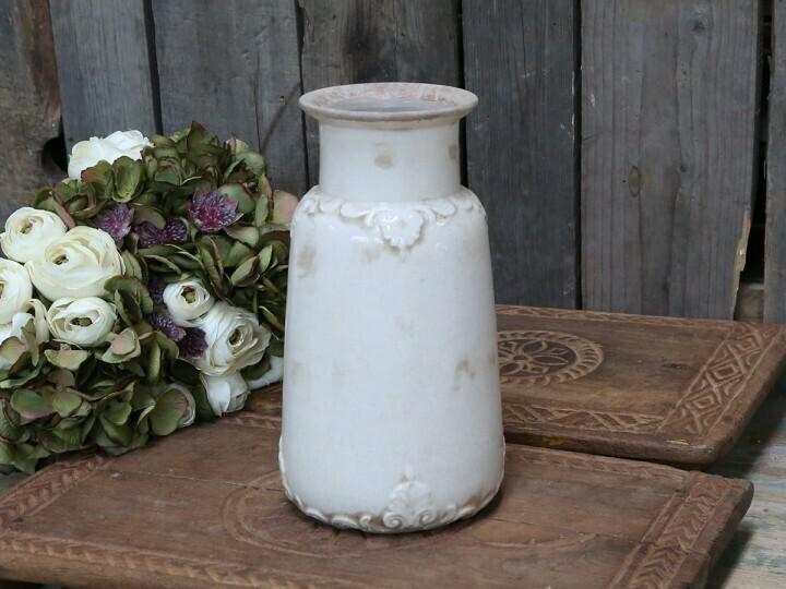 Marcy vase m. fransk dekor