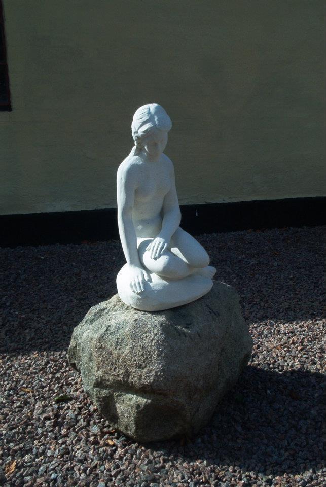 Den lille havfrue / Lahema Marmorkunst