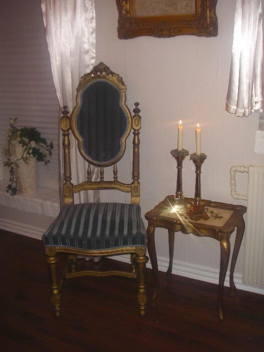Antik sjælden dronning stol.