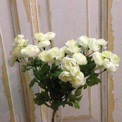 Ranuncel buket / Kunstige blomster