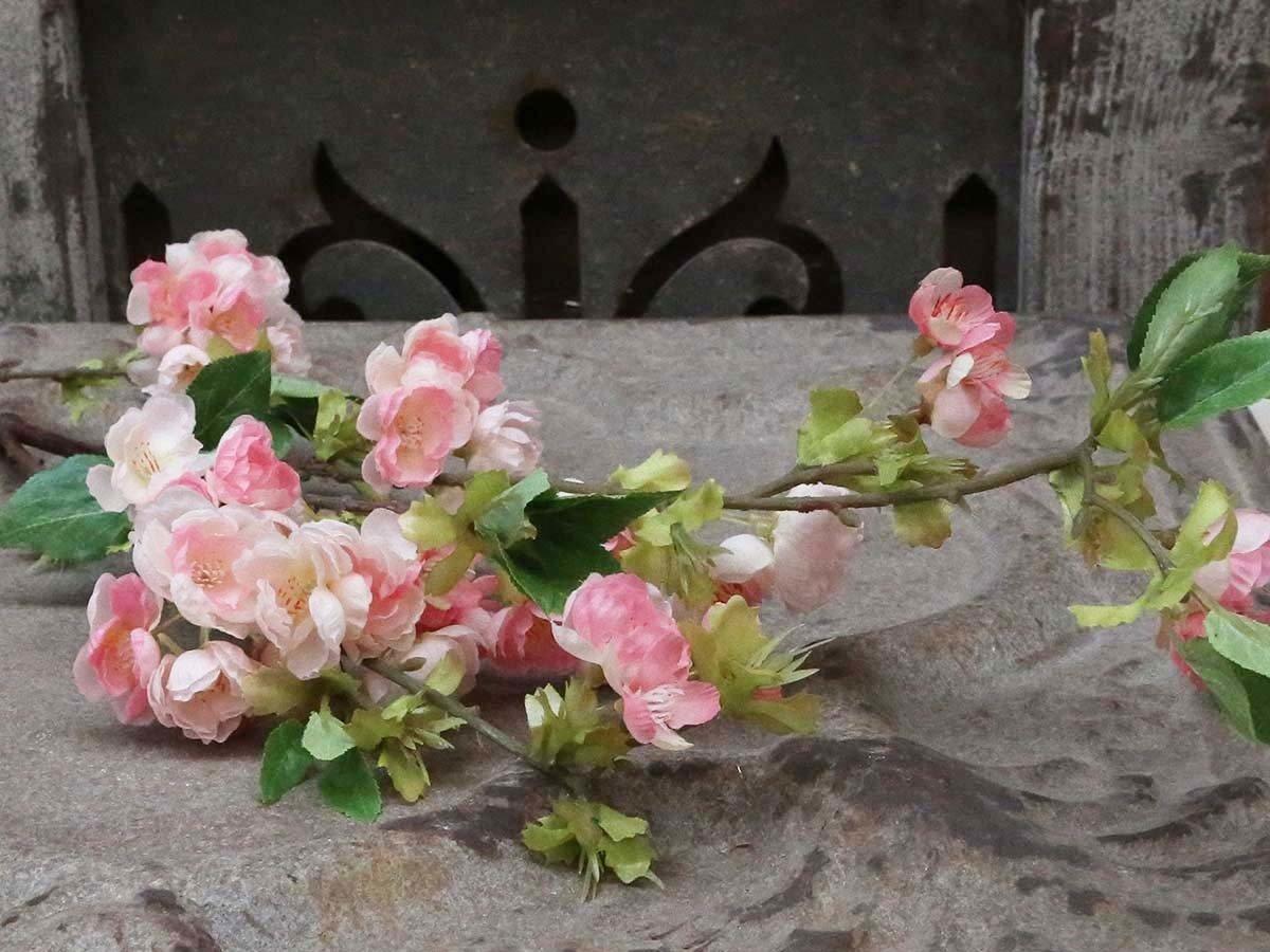 Dekorationsgrene - Æblegren rosa. H106 cm
