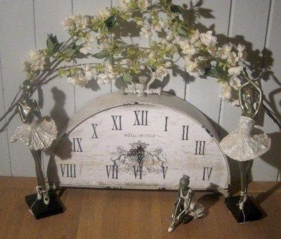 Stort vintage bord ur
