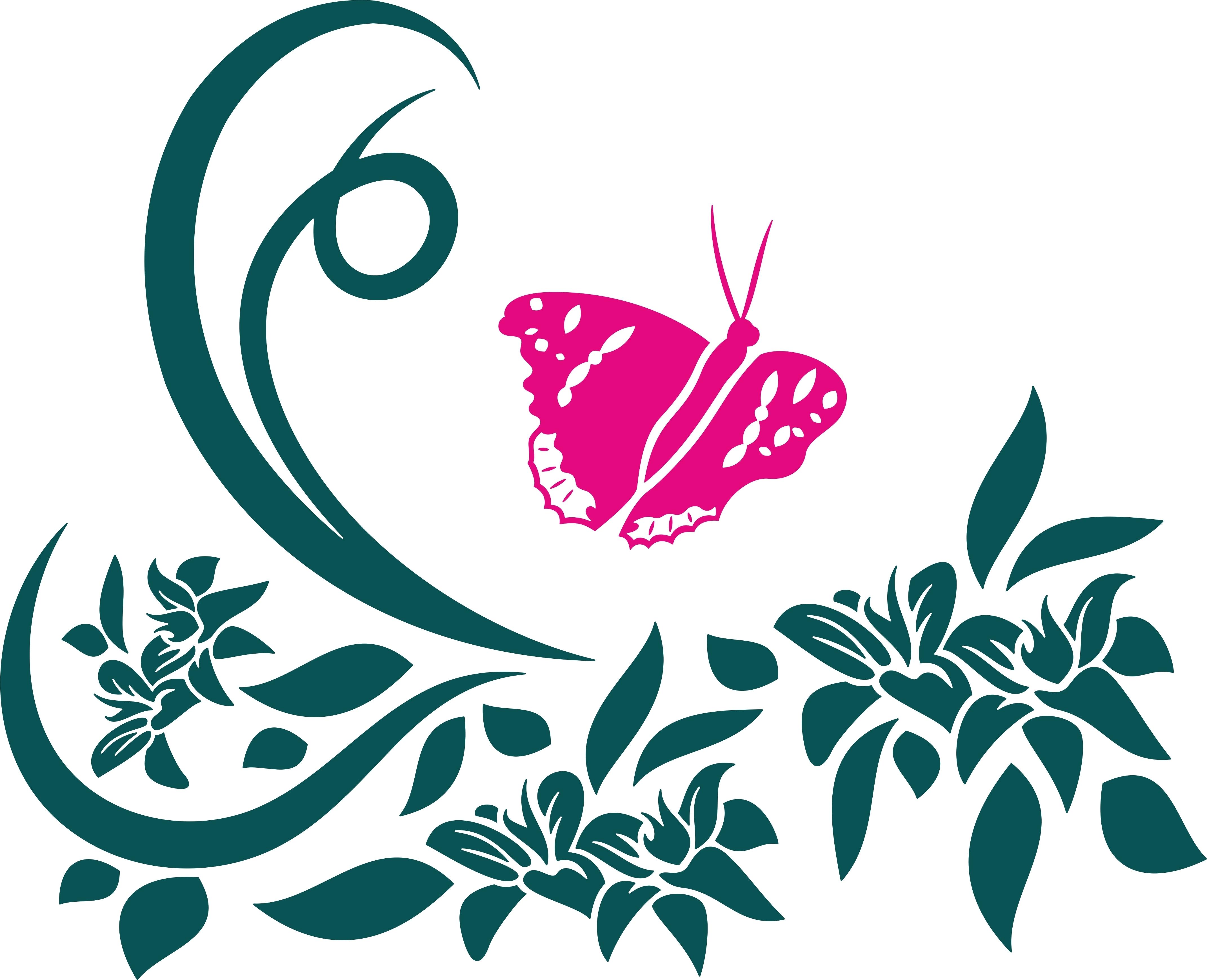 Beeindruckend Wandtattoo Schmetterling Beste Wahl Abstrakt 0303201603