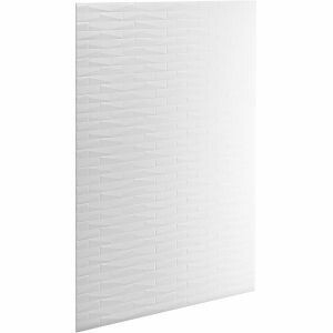 "Kohler K-97604-T01-0 Choreograph 60"" x 96"" Brick Texture Wall Panel"