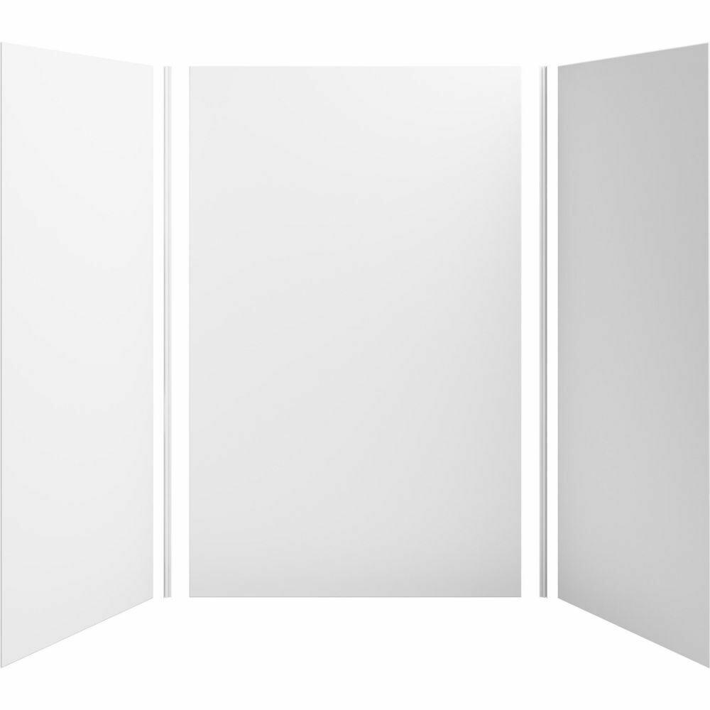 "KOHLER Choreograph® 60"" x 42"" x 96"" shower wall kit - WHITE"