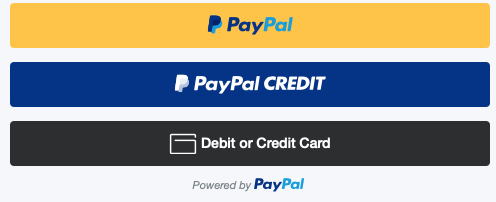 Paypal Special Fianancing