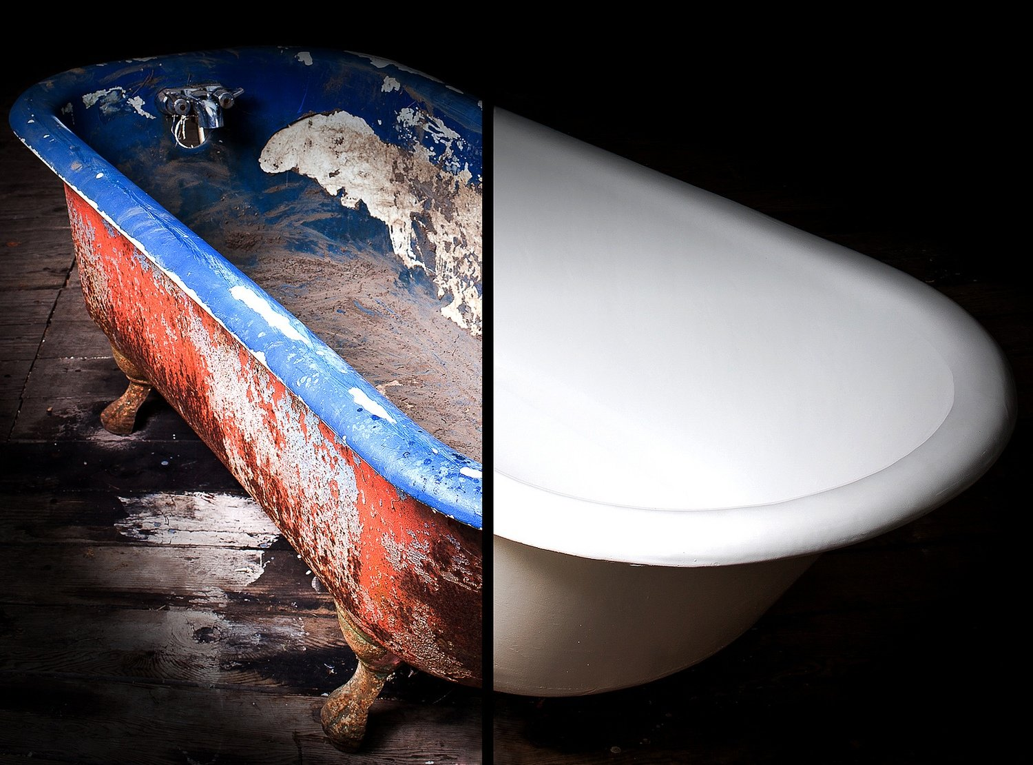 CLASSIC CLAWFOOT TUB REFINISHING