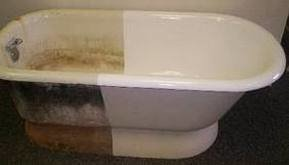 Bath Refinishing - Landlord Special - Low Use Very Basic Package 2 Coat System