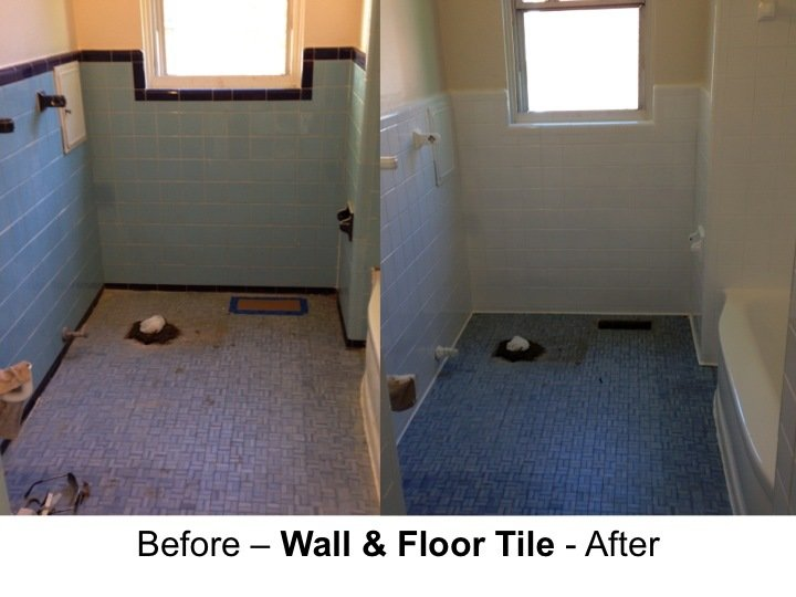 Ceramic Bath Tile Refinishing Detroit 586 296 1100