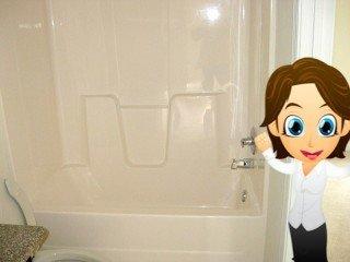 Fiberglass Repair / Bathtub + Surround Refinishing