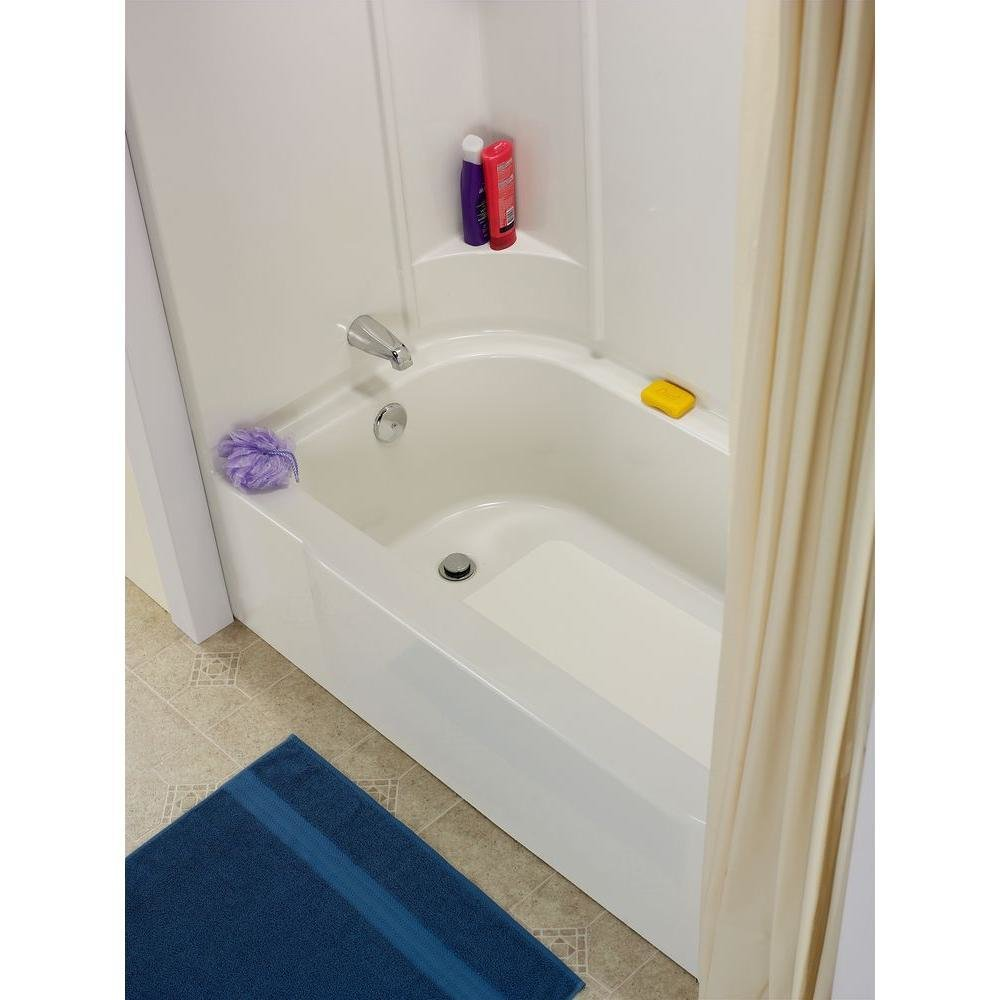 Permanent Fiberglass Bathtub Floor Repair 00074