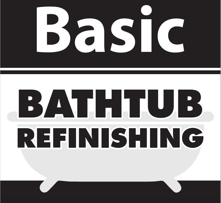 BASIC TUB REFINISHING 2 Coat System  (No Coupon) 2 Coat System