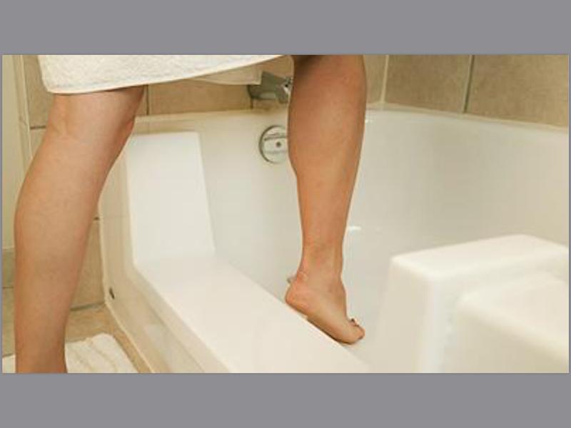 Step-In Bathtub for Seniors -Basic Install