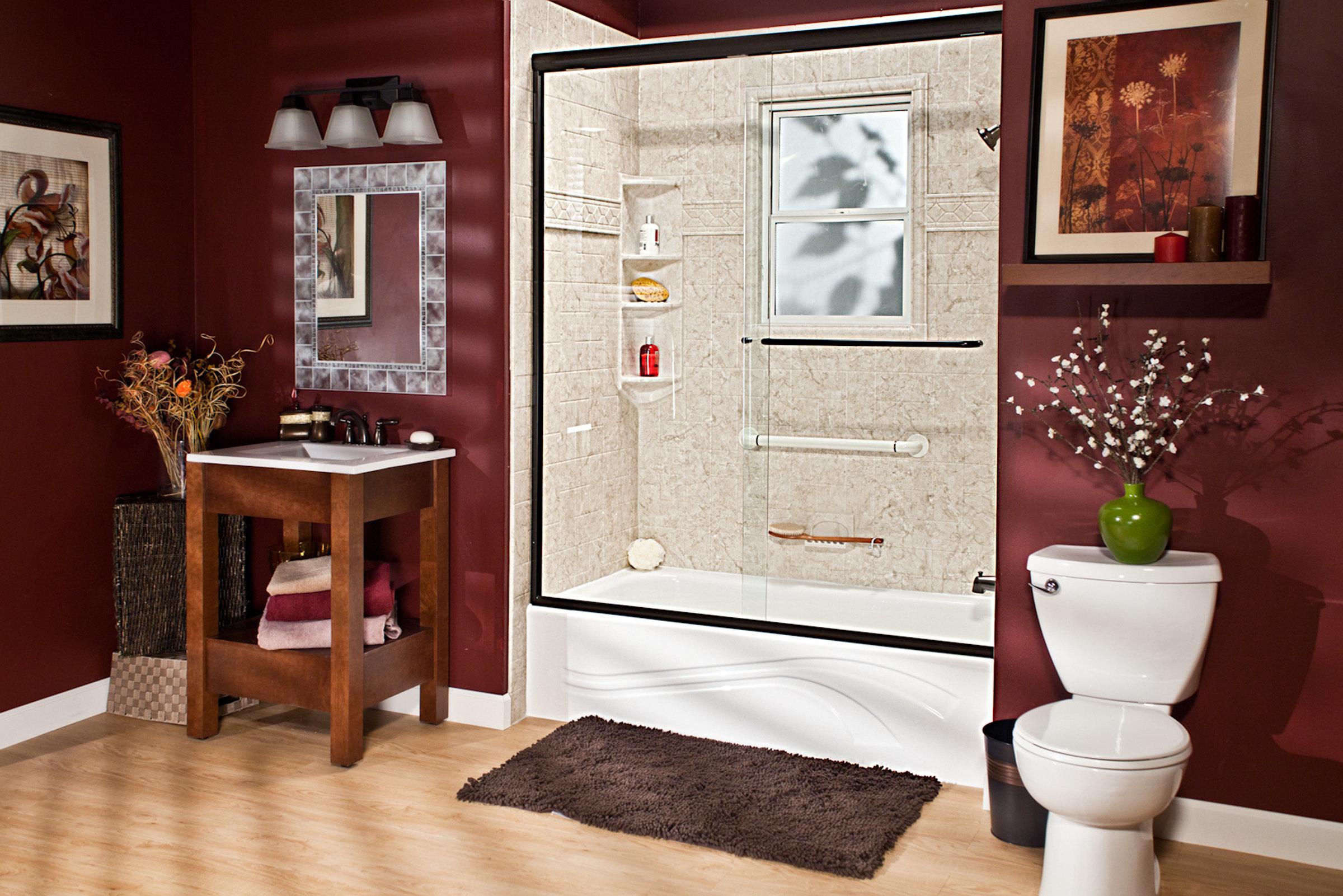 DuraStone Bath Products New Walls Only Keep Tub 00086