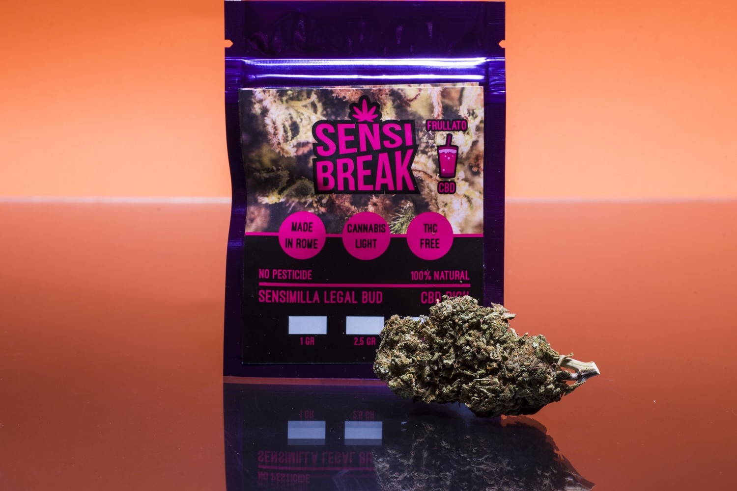 Sensi Break - Frullato cbd 2,5gr