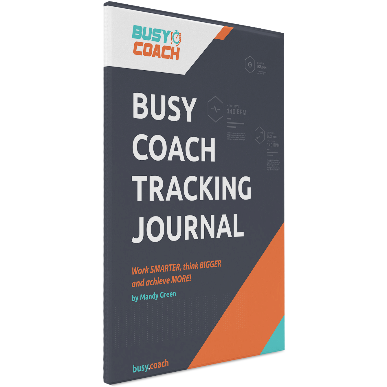 Busy Coach Tracking Journal MG-D-BCTG-1