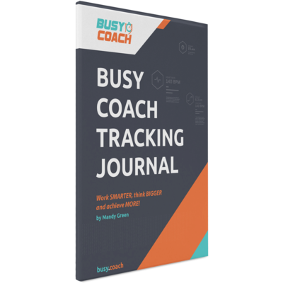 Busy Coach Tracking Journal
