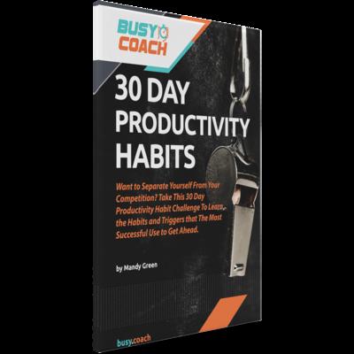 30 Days Productivity Habits