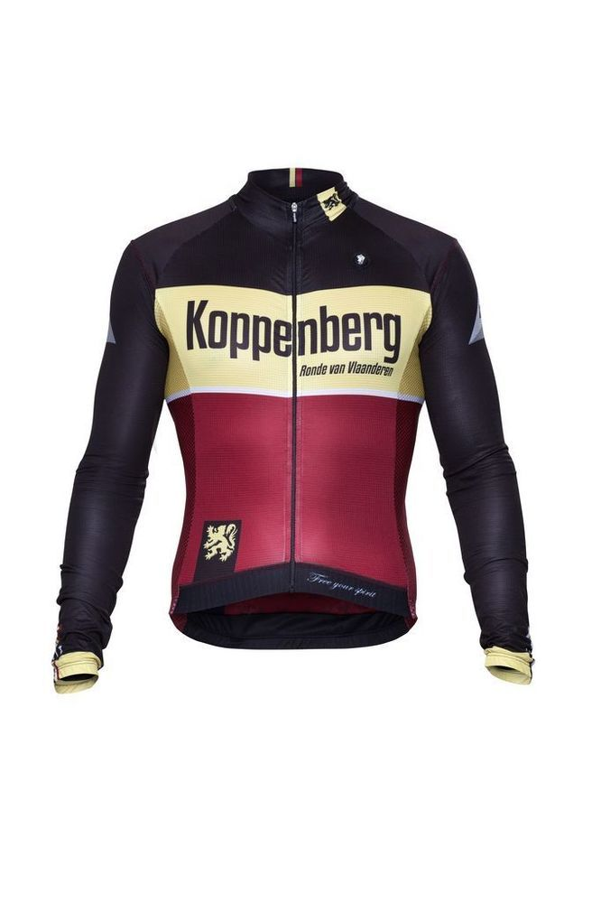 Long Sleeve Jersey - Koppenberg