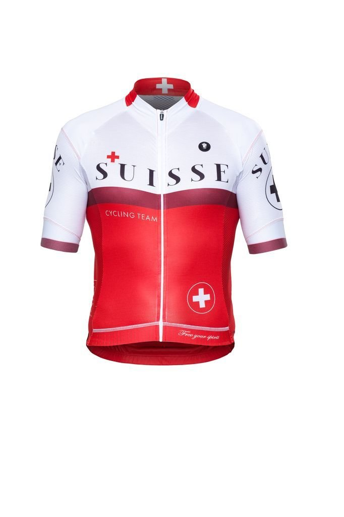 Short Sleeve Jersey - Nations Suisse