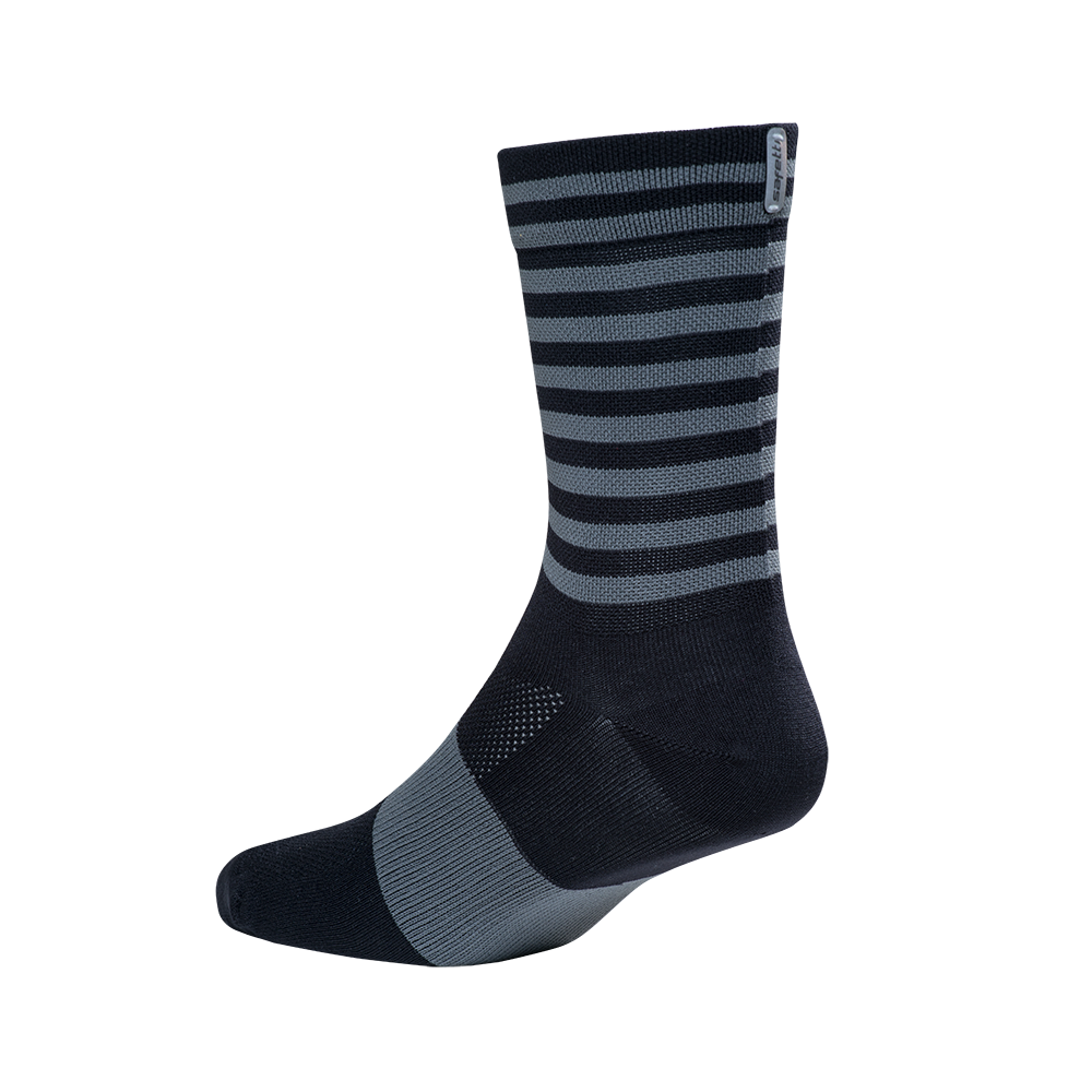 Socks - Safetti Retro Black