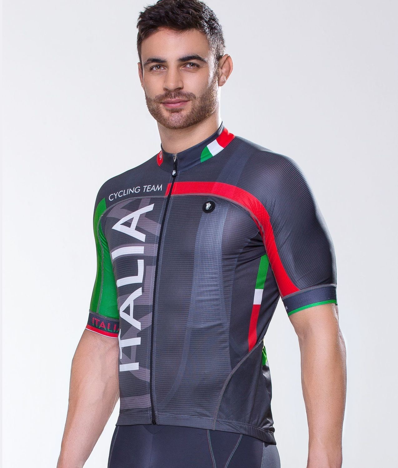 Short Sleeve Jersey - Italia Gray
