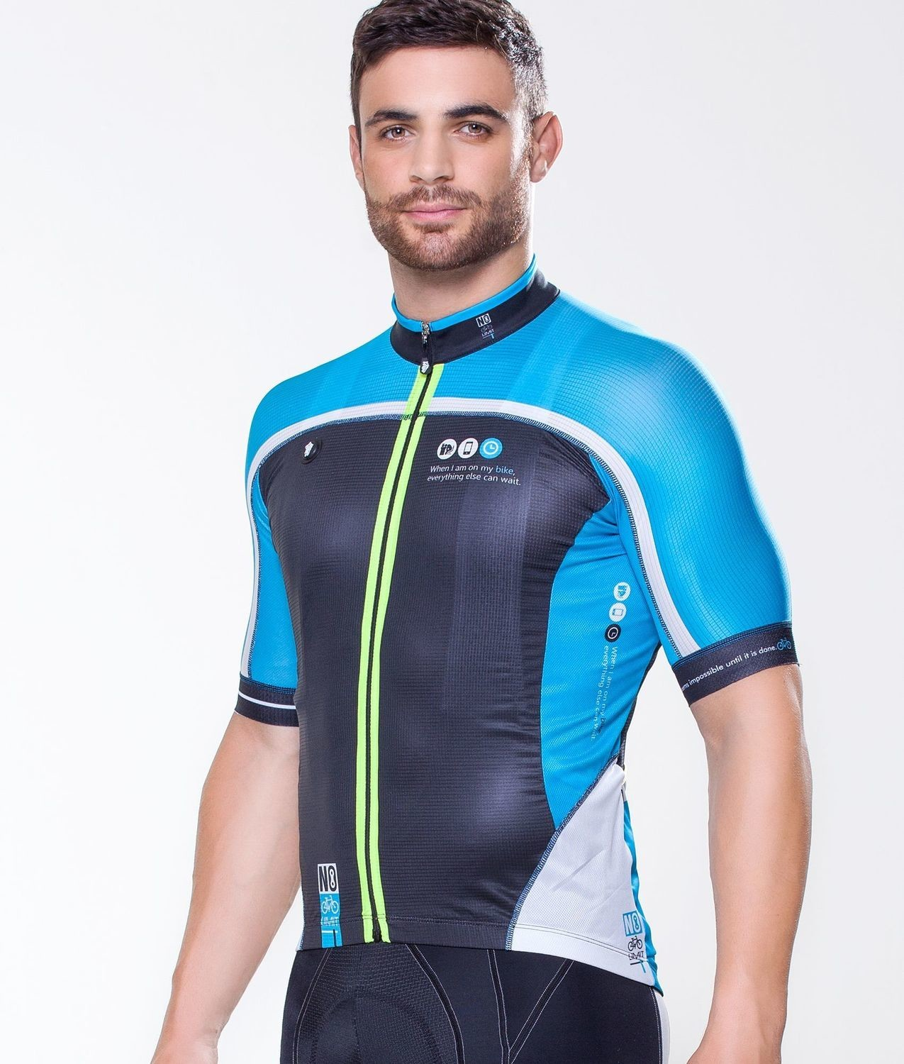 Short Sleeve Jersey - Always Bike Blue