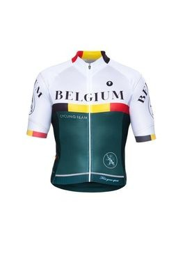 Short Sleeve Jersey - Nations Belgium