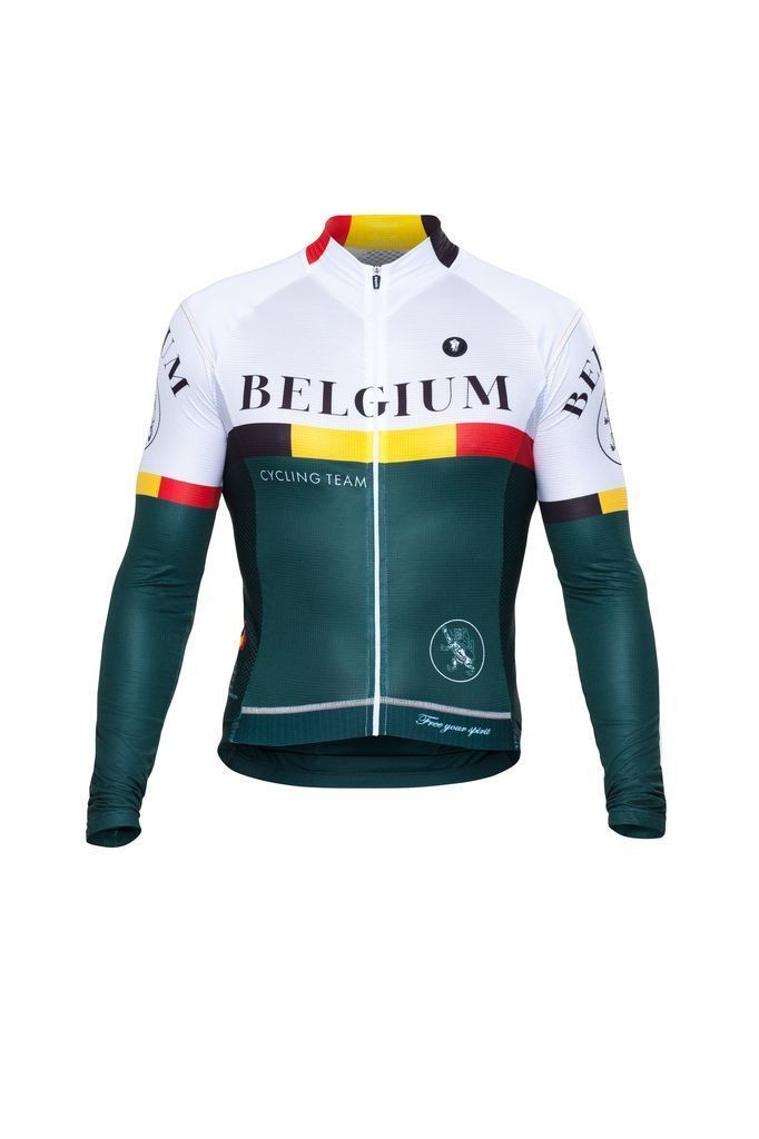 Long Sleeve Jersey - Nations Belgium