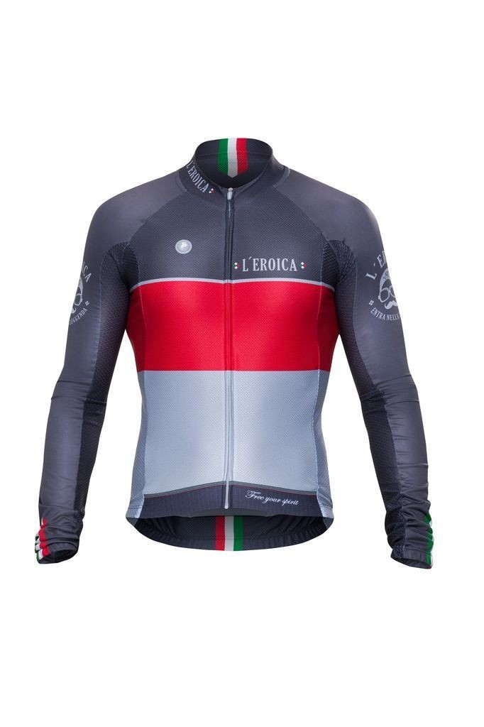 Long Sleeve Jersey - L'eroica