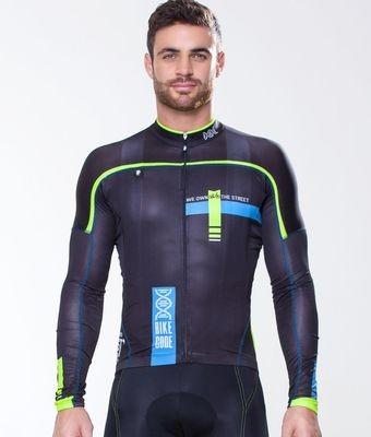 Long Sleeve Jersey - Bike Code Black