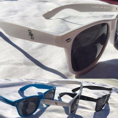 BE Sunglasses (Black, White, or Blue)