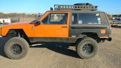 Xj 84 01 Cherokee Xj Roof Rack Db Metalworx 66 76