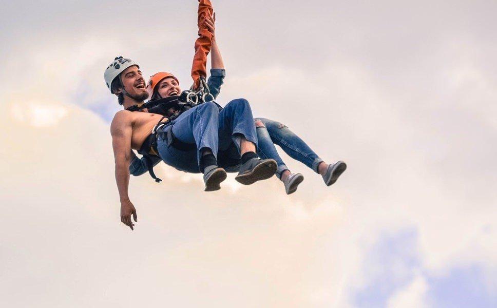 Тандем прыжки с веревкой в Москве