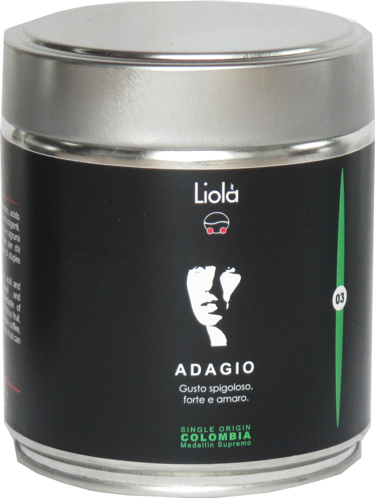 03 - ADAGIO 100% Arabica single origin - COLUMBIA Meddelin Supremo