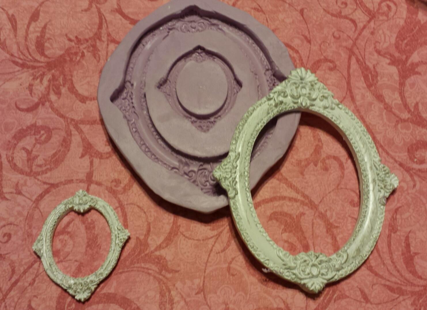 Double Oval Frame Mold