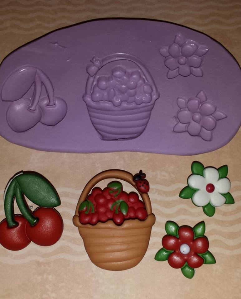 Mini Cherry Mold Set