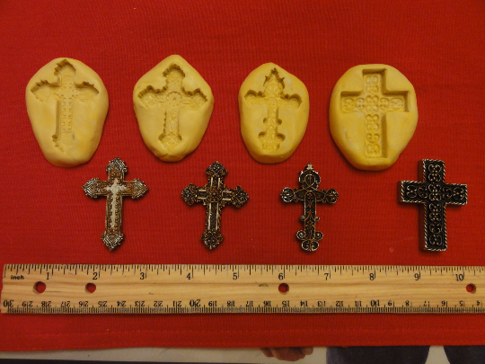 Mini Cross Mold Set
