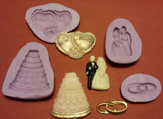 Just Married Mold Set