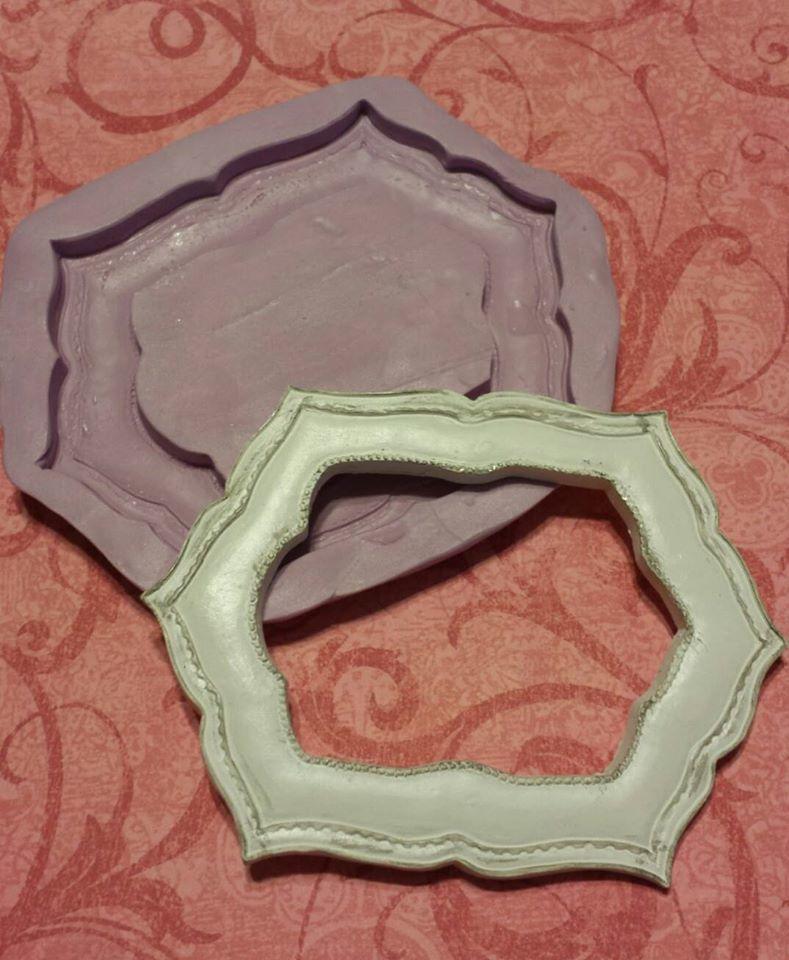Hexagon Frame Mold