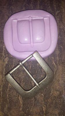 Squared Belt Buckle Mold