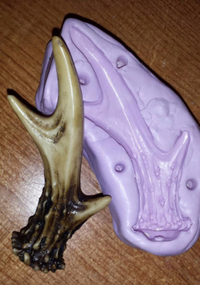 Deer Antler Mold