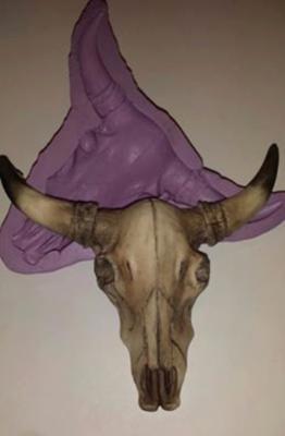 Bull Skull Mold
