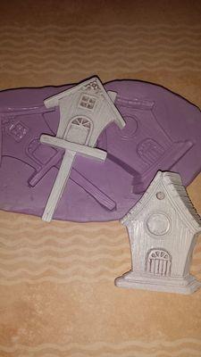 Mini Birdhouse Mold Set